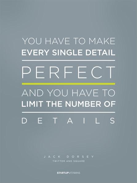 Inspiration: Startup Vitamins Jack Dorsey